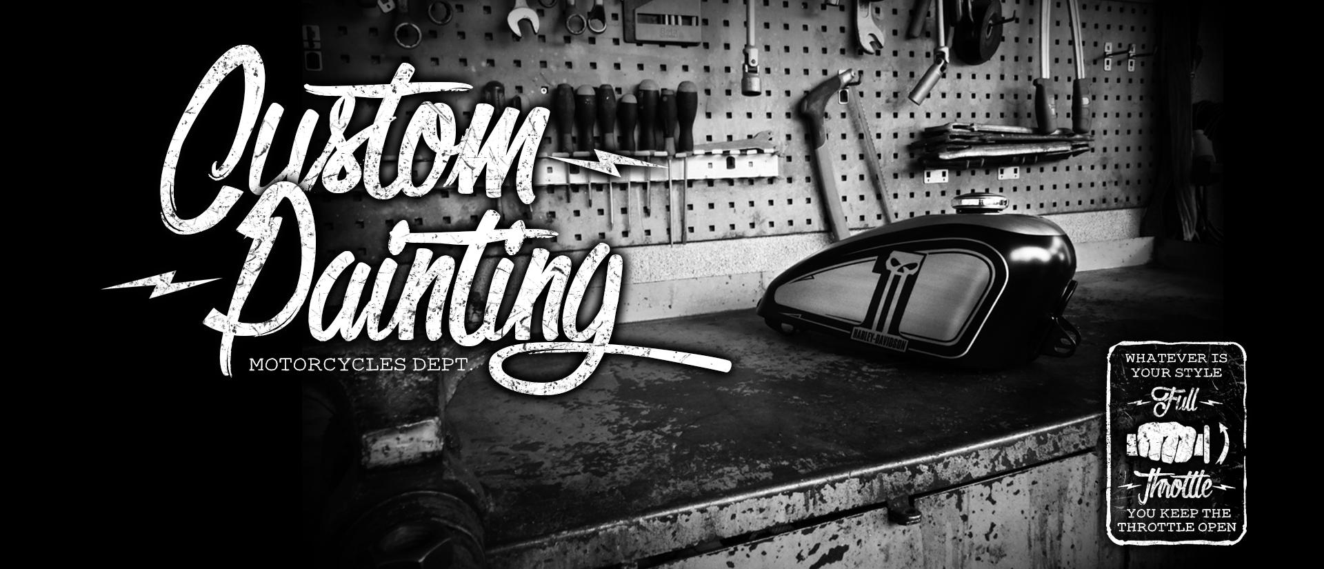 RIVAART DESIGN Harley Davidson Dark Custom