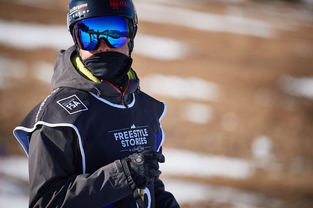 Casco Ale Mazzoleni freestyle ski