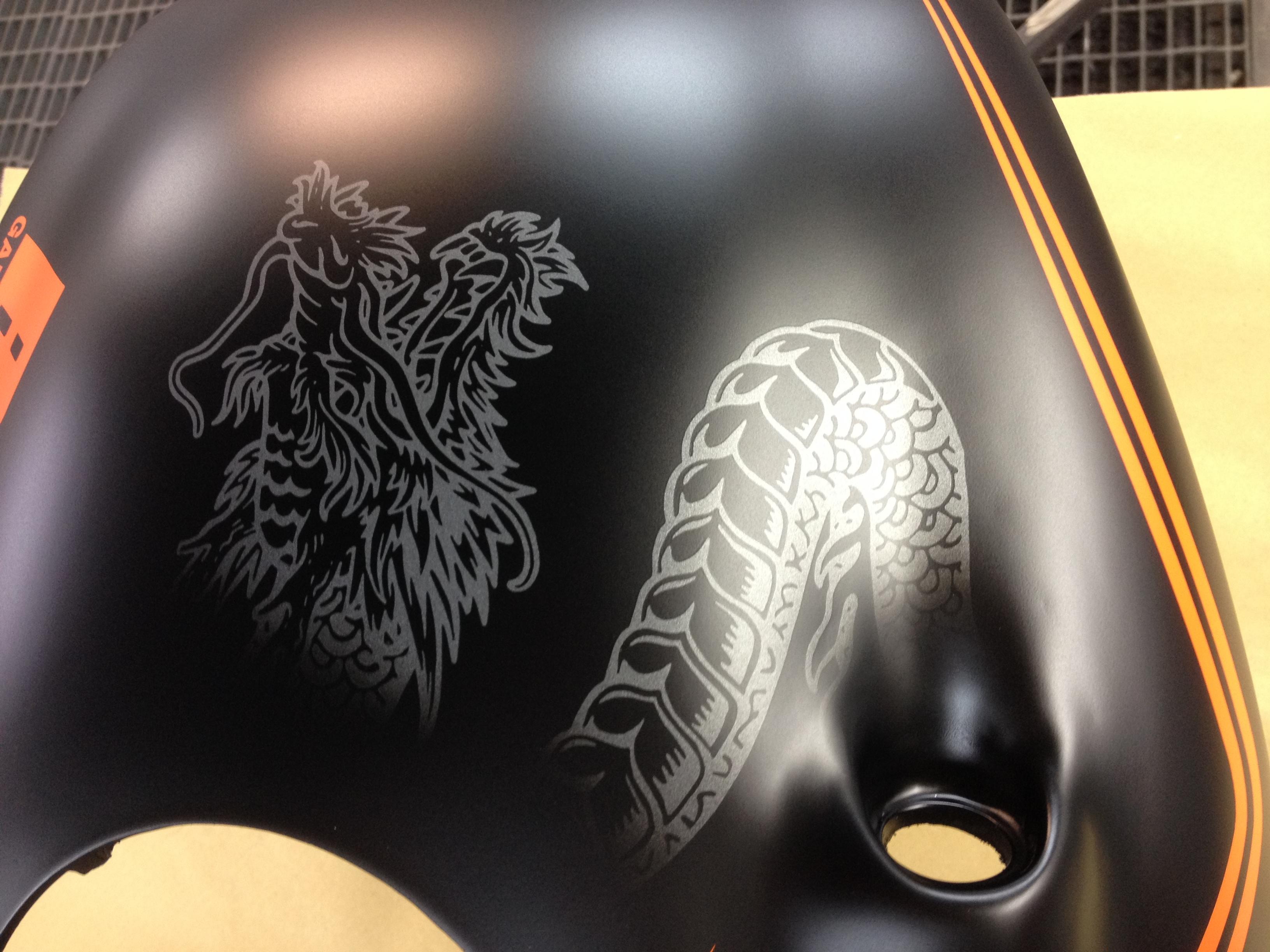 Buell Black Dragon by Garajek