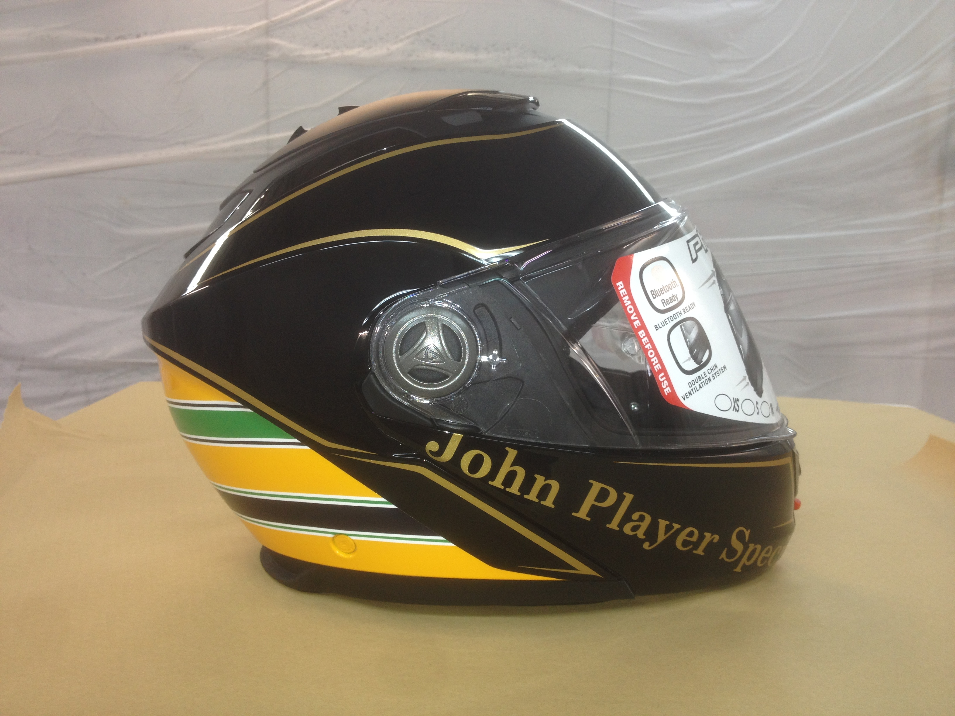 Casco Replica JPS by GARAJEK