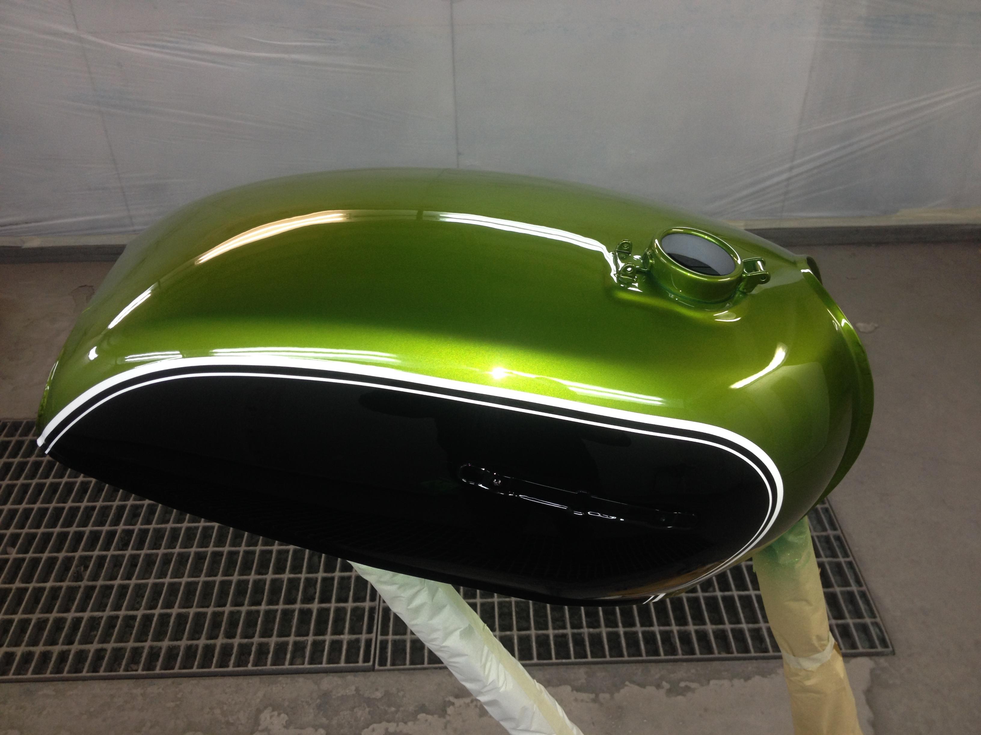 Restauro Honda CB500 Four K1