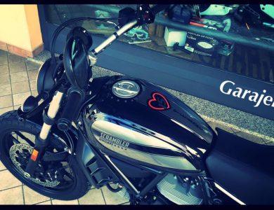 Ducati Scrambler 15 years by Garajek