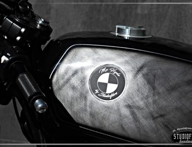 BMW R45 Mr.Hyde by STUDIOFIBRE