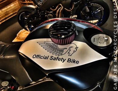Buell Safety Bike by GARAJEK