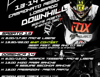 Camp. Regionale Downhill 4T-PROJECT