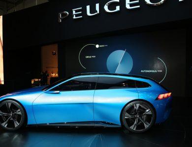 Peugeot INSTINCT concept Ginevra 2017