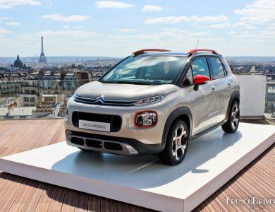 Citroen SUV C3 Aircross REVEAL PARIS 2017